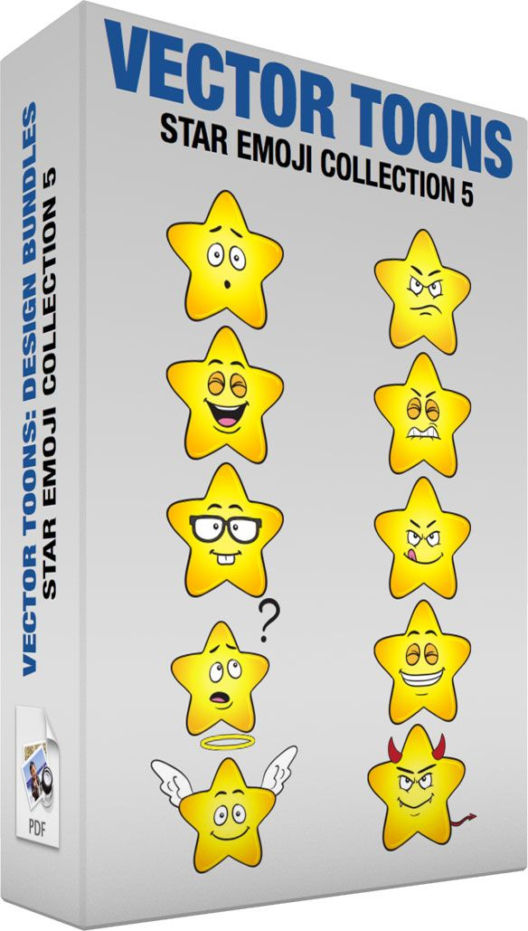 Star Emoji Collection 5 #angel #angry #annoyed #bad #brilliant #confused #devil #devious #emoji #emoticon #emotions #evil #faces #glasses #good #happy #heavenlybody #mad #nerdy #shining #smileys #smiling #space #star #surprised #unsure #yellow #vector #clipart #stock