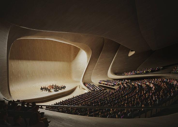 Heydar Aliyev Centre - Architecture - Zaha Hadid Architects