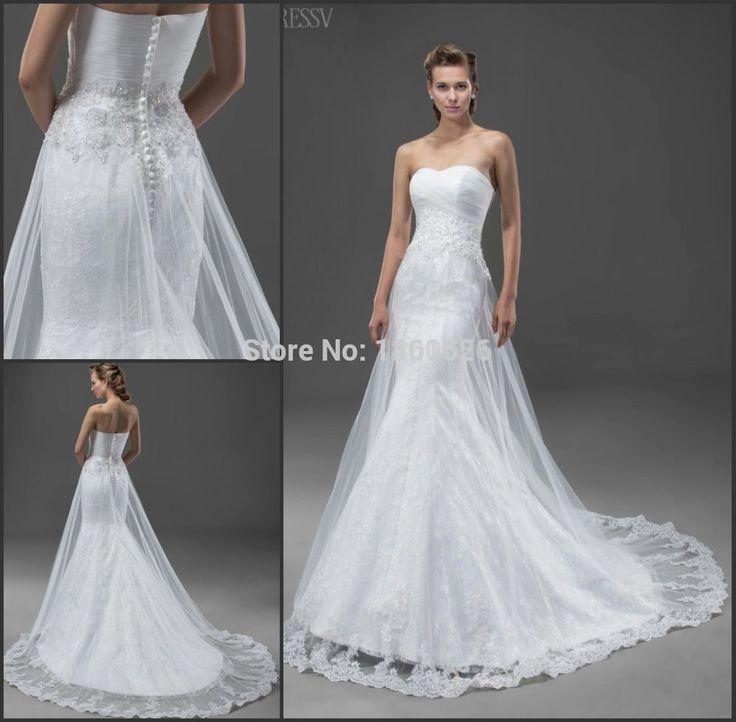 Купить товарНа заказ высокого качества труба / русалка аппликации и блестками часовня поезд молния узелок милая свадебное платье HBQ629 в категории Свадебные платьяна AliExpress.                           Добро пожаловать в наш магазин