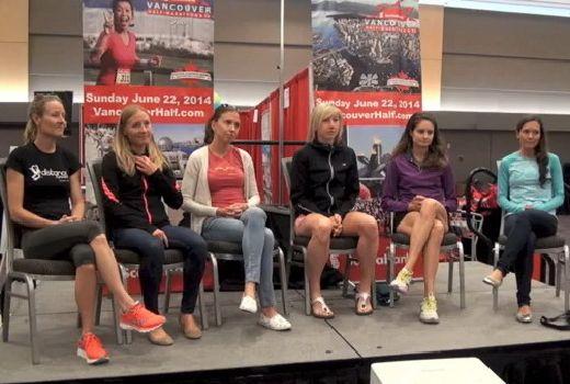 Scotiabank Vancouver Half MArathon Women's panel: http://athleticsillustrated.com/interviews/2014-scotiabank-vancouver-half-marathon-elite-panel-women/
