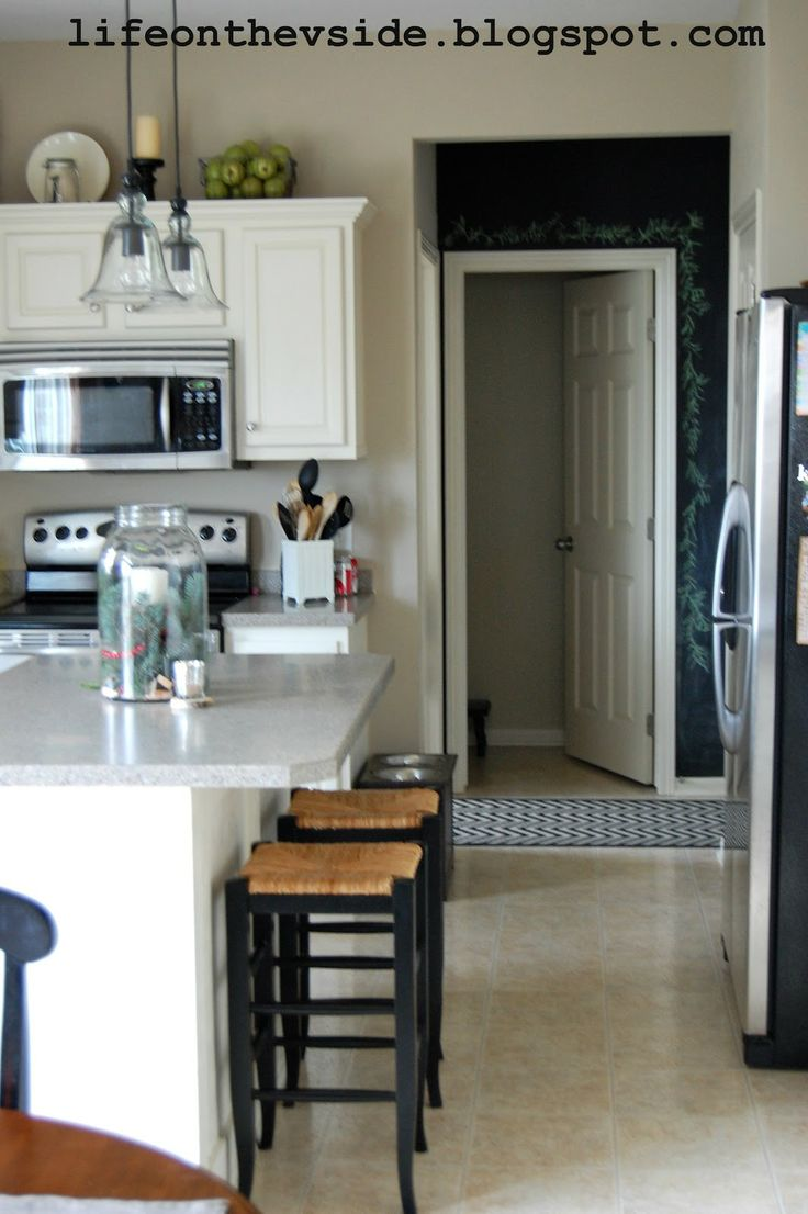 Best Painted Kitchen Cabinets Before After Color Sherwin 400 x 300