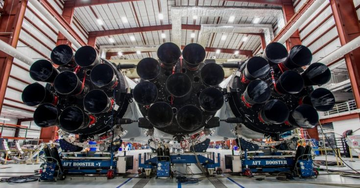 Elon Musk shows off SpaceX's almost fully-assembled Falcon Heavy rocket http://www.charlesmilander.com/news/2017/12/elon-musk-shows-off-spacexs-almost-fully-assembled-falcon-heavy-rocket/ from 0-100k followers, want to know? http://amzn.to/2hGcMDx