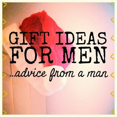Organized Charm: Gift Ideas for Men (Advice from a Man)