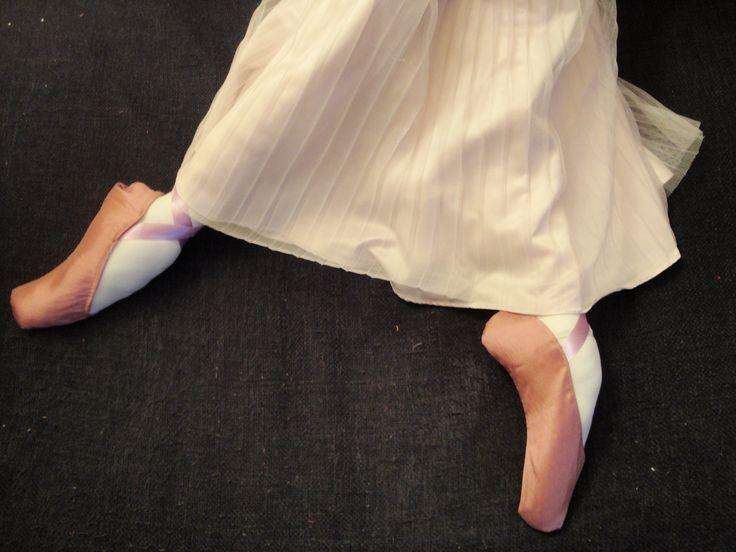 I wanna be a dancer, cloth doll by PouPée-Pe
