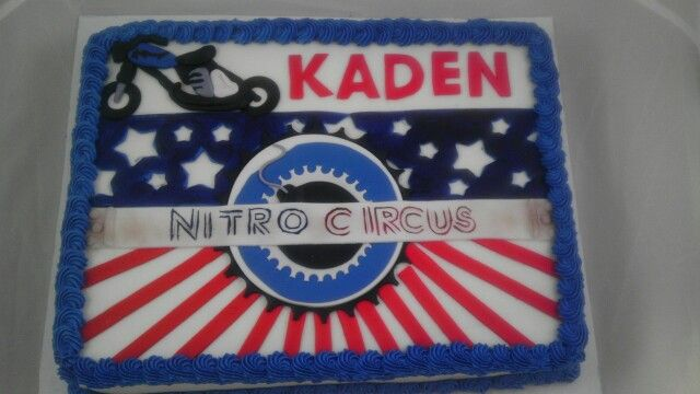 17 Best Images About Camo S Nitro Circus Birthday On