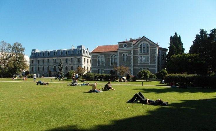 Bogazici University - Hamlin Hall & Albert Long Hall -Istanbul