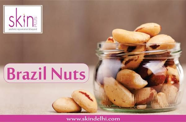 Brazil nuts are rich in selenium, which increases skin elasticity and may decrease skin cancer. Throw in walnuts which are loaded with omega-3 fatty acids to lower inflammation and put the brakes on breakouts.