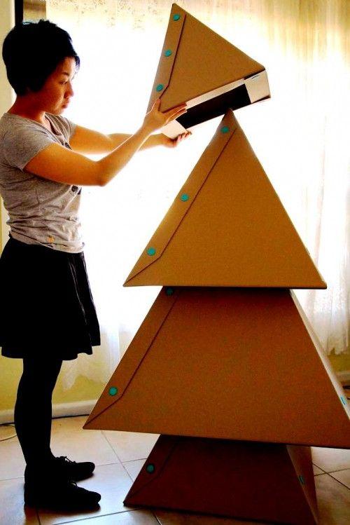 Елка своими руками из бумаги - сделать елку своими руками (8)