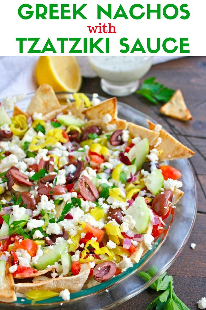 Get your Greek on for game day! Nachos are always a hit at get togethers, and these Greek Nachos with Tzatziki Sauce are no exception. You'll love this fresh-flavored twist on a favorite snack.