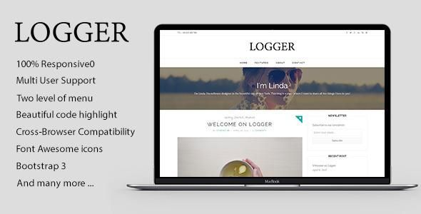 Logger is a minimalist and content-focused theme for Ghost. It was designed for readability on all devices. The theme supports post formats and can display images, videos and audios at full width. Logger is perfect for personal blogs, portfolio or travel, hobby, tutorial blog websites. Installing and customizing this theme is very easy. All required information are provided in documentation.  Features Ready for Ghost latest version – 0.6 Previous and next post link in single post view – NEW…