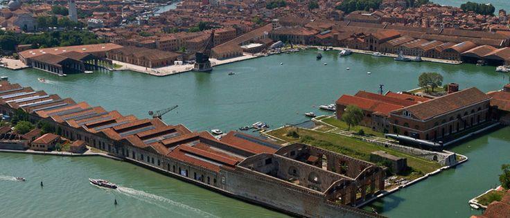 L'Arsenale di Venezia visto dall'alto. http://bit.ly/1Ht9PMQ