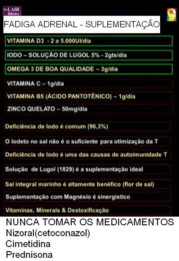 Fadiga Adrenal Crônica