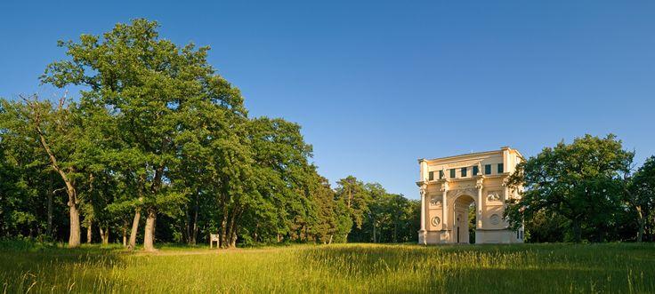 In het Lednice-Valtice gebied is de Tempel van Diana te vinden. Een klein romantisch bouwwerk bedoeld voor het vermaak van de adel en hun gasten in het Lednice-Valtice Complex. Foto: Jan Miklín ©CzechTourism www.czechtourism.com