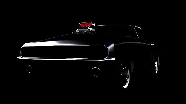 Dodge charger 1970  Created with 3d max Render with vray render