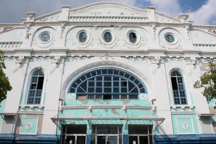 The Ward Theatre, Downtown Kingston, Jamaica