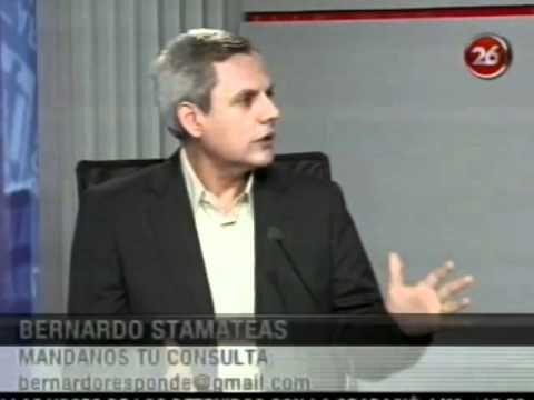 ¨El enojo¨ por Bernardo Stamateas en Canal 26