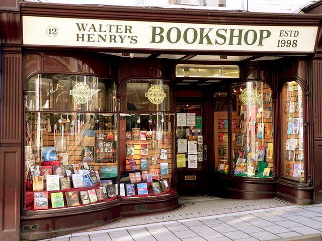 Walter Henry's Bookshop, Bideford, Devon.