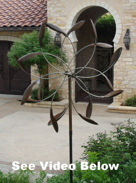 Zephyr Kinetic Wind Sculptures - Estate Quality Wind Art direct from the artist at BreezeWay Arts