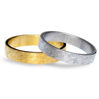 #aliança boda or bicolor #alianza boda oro bicolor Ref: 101