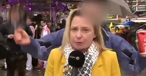 'Don't touch me!' Reporter describes being sexually assaulted on live TV during German Carnival