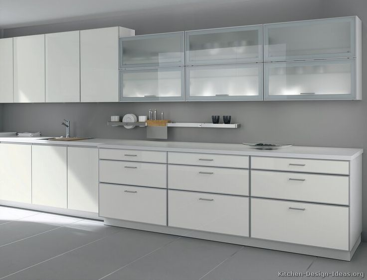 Modern White Kitchen Cabinet Ideas best 25+ white contemporary kitchen ideas only on pinterest