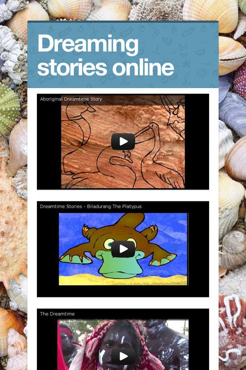 Dreaming stories online