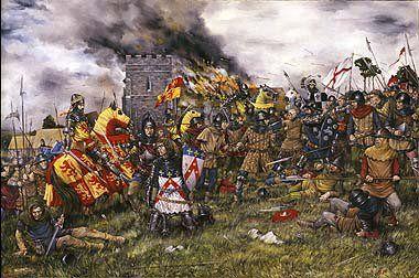Capture Of Flodden Palmer Depicting The Battle Of