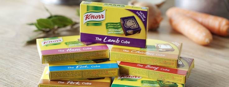 Delicately seasoned with herbs and spices, Knorr Stock Cubes bring out the flavour of food without artificial colours, or added MSG – an artificial flavour enhancer. They're perfect in soups, casseroles, risottos and, as you'll find out in Marco Pierre White's recipes, as a seasoning on meat, fish and pasta  #iamabzzagent