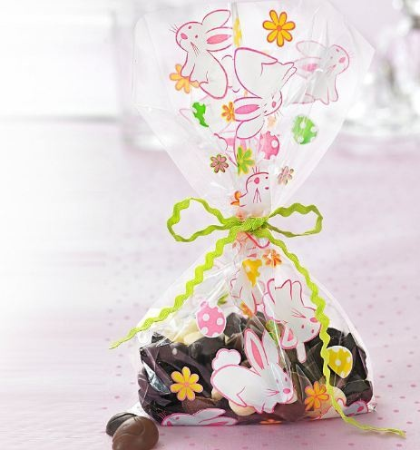 9 best fun easter eggs images on pinterest easter eggs polymer make your easter egg hunt more egg citing with these bunny cellophane treat bags with negle Images