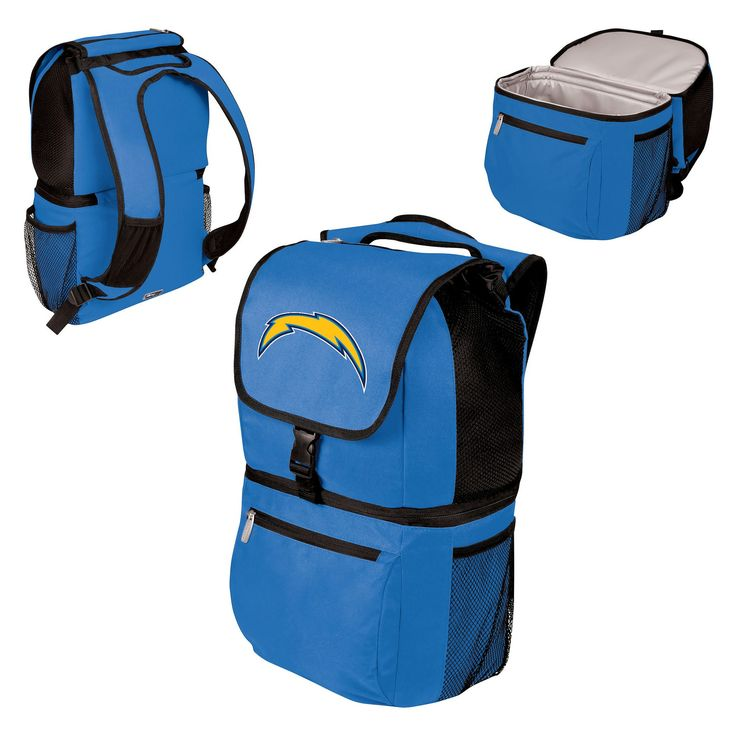 NFL Los Angeles Chargers Picnic Time Zuma Cooler Backpack - Blue