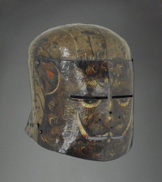 Casques de chevaliers allemands – 1500