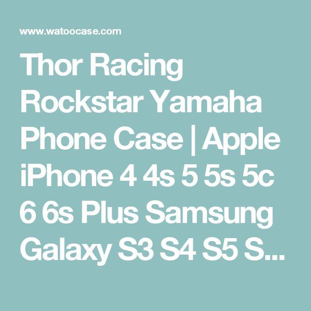 Thor Racing Rockstar Yamaha Phone Case   Apple iPhone 4 4s 5 5s 5c 6 6s Plus Samsung Galaxy S3 S4 S5 S6 S7 EDGE Hard Case