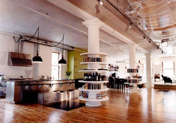 Loft NYC Soho Dream Homes Pinterest