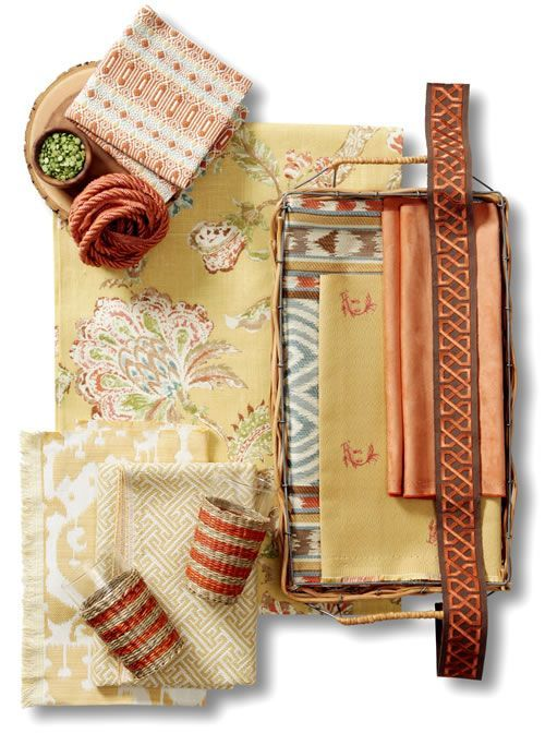 Retreat Room Fabric Collection. Image: Calico Corners. - voguehome.org