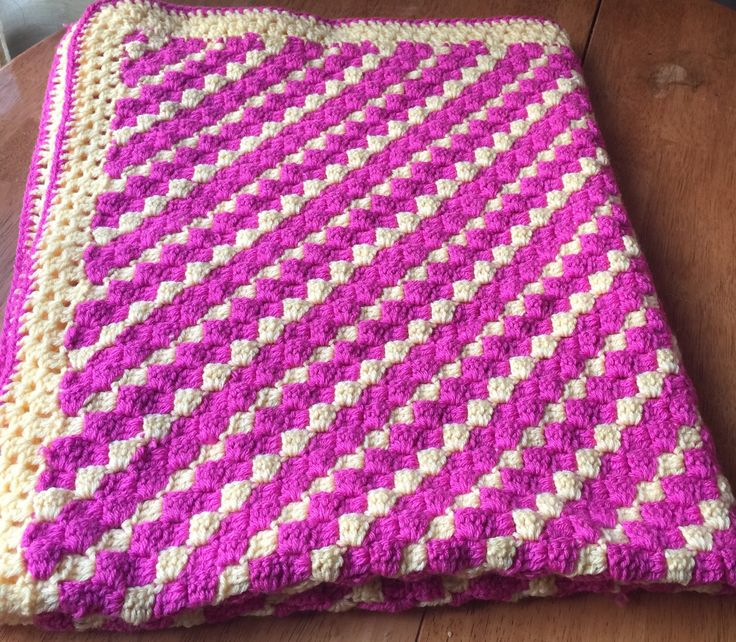A personal favourite from my Etsy shop https://www.etsy.com/ca/listing/501507314/crochet-baby-blanket