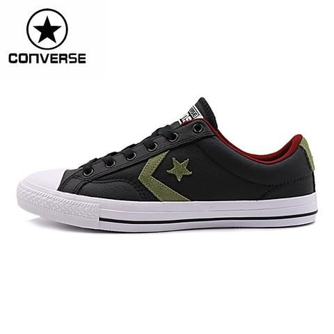 Converse star player leather Unisex Skateboarding Shoes Sneakers
