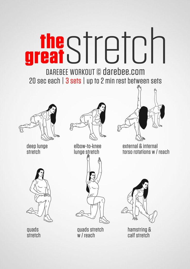 Great stretch workout
