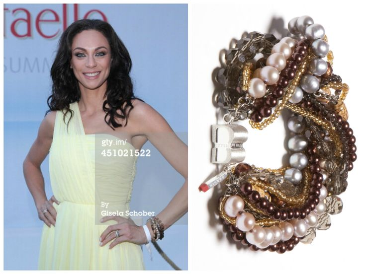 Lilly Becker is wearing a SIGNATURE Extravaganza Berlin bracelet from BISAZO (http://www.cliccessory.com/en/collections/bisazo/signature/signature-extravaganza-berlin.html).