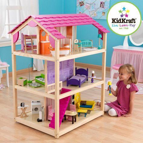 Casa de muñecas so chic   KIDKRAFT   Juguete EurekaKids