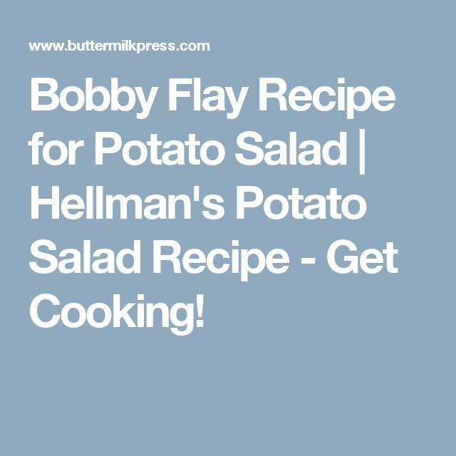 Bobby Flay Recipe for Potato Salad | Hellman's Potato Salad Recipe - Get Cooking!