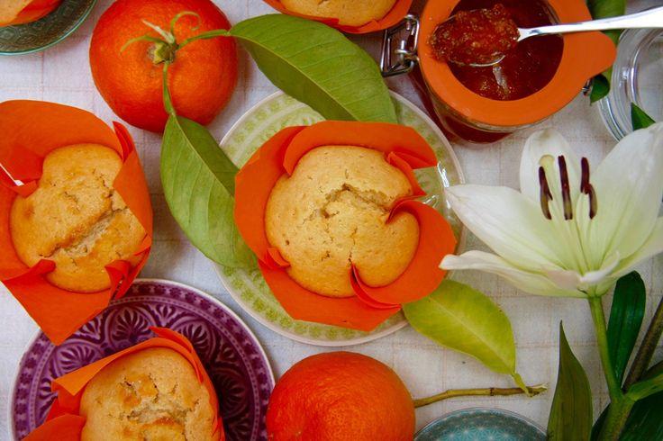 Muffins al aroma de Sevilla