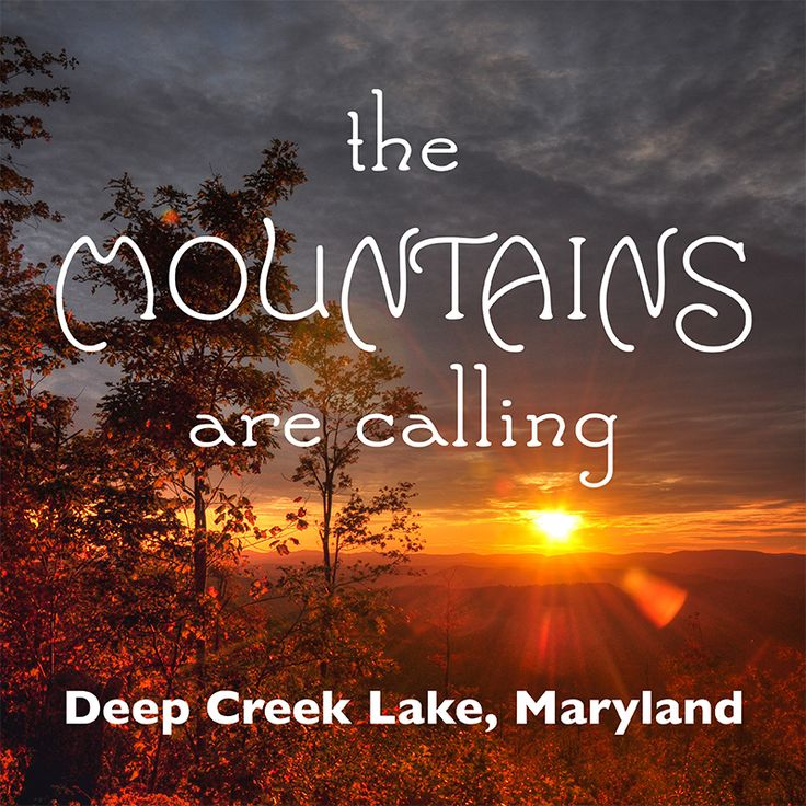 Deep Creek Lake Vacations - Experience the Mountains of Western Maryland