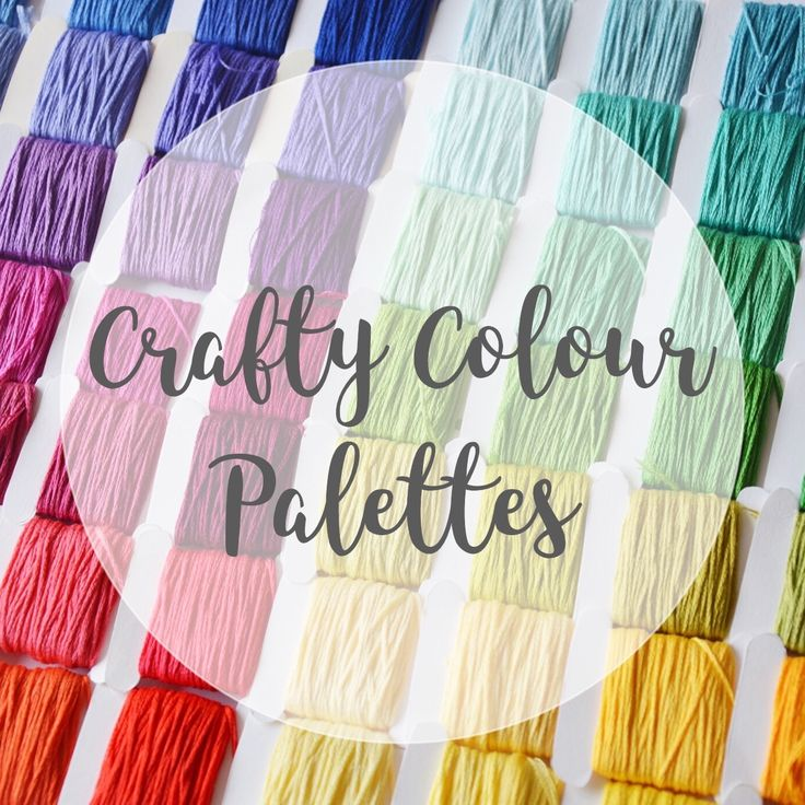 Introducing Crafty Colour Palettes with @hellohoorayblog! The colour inspiration that you need for your next craft project is right here!