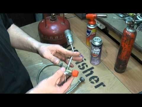 Как заправить газовый баллон. - YouTube