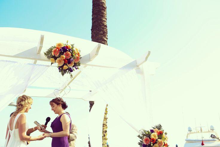 A beauiful Portimao Ceremony
