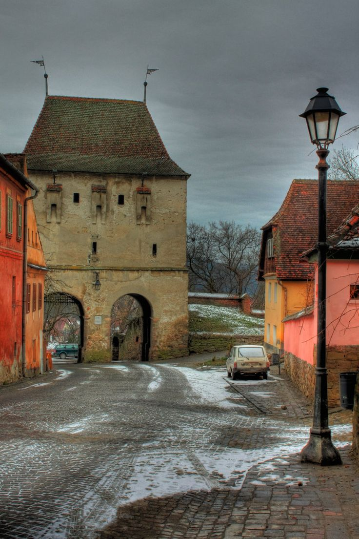 Sighisoara, Romania - the still inhabited medieval city