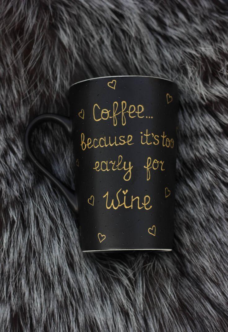 Mugs With Sayings Funny Coffee Mugs For Women Wine Lover Gift Best Friend Mug Large Coffee Mug Girl Boss Hand Painted Mug Glitter Mug Boss