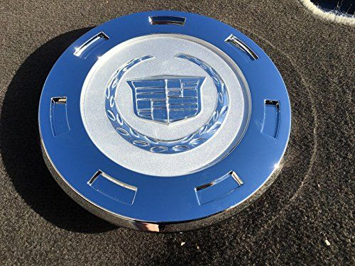 """D098 9596649 07-12 Cadillac Escalade Chrome Crest 22 Wheels Center Hub Cap 07 08 09 2010 2011 2012 by Replacement - 2007-2015 CADILLAC ESCALADE 22"""" WHEEL CENTER CAP 9597355 Item Description This auction is for One Brand New Cadillac REPLACEMENT WHEEL CENTER CAPS Fits all : CADILLAC ESCALADE 2007-2015, Part number 9597355 / 9598677 / 9598295 Diameter = Face of center cap 8"""" or 200mm THEY ARE A CHROME FINISH WIT..."""