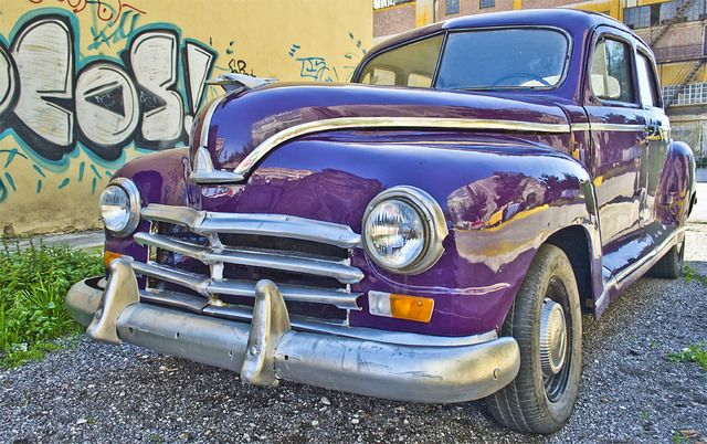 Old Chevy at Piraeus Port