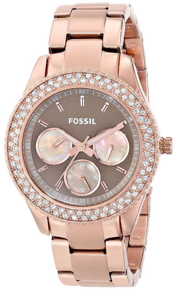 Crystal watches for women Fossil